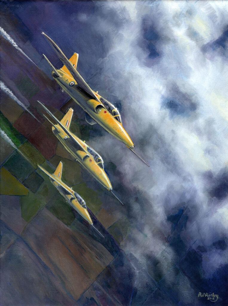 A Flight of Yellowjcks