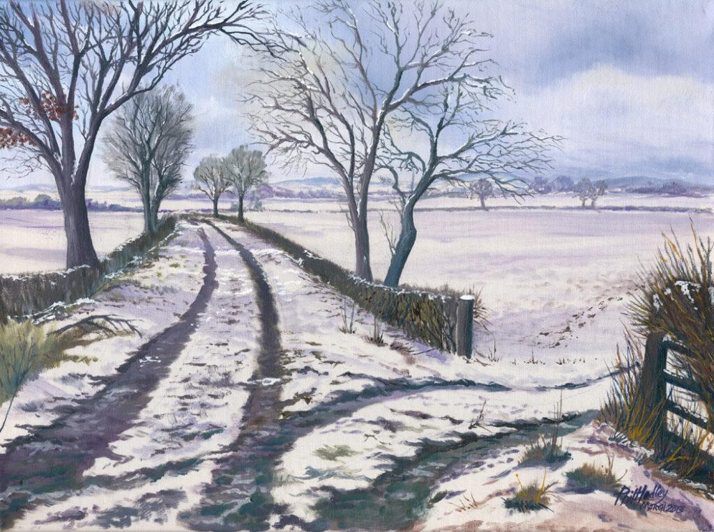 The old Railway Line nr Pontesbury