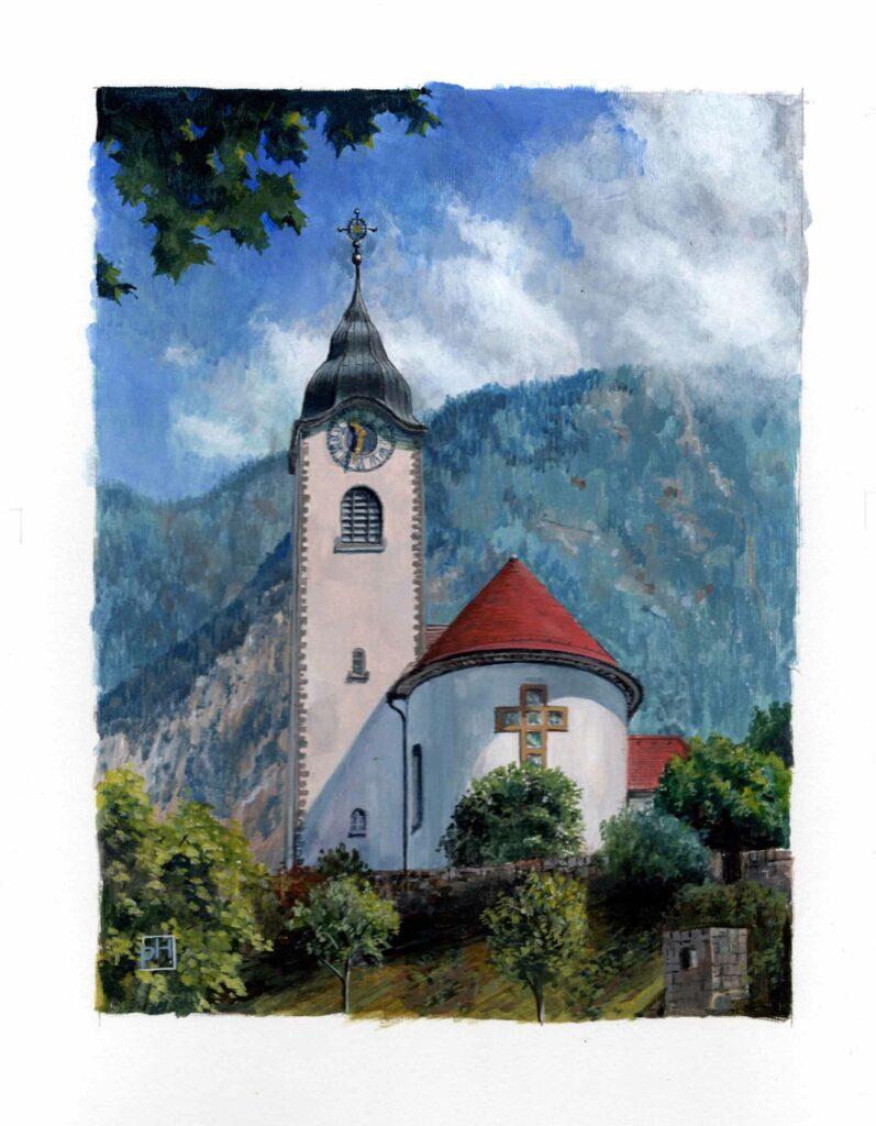 Fluelen, Switzerland